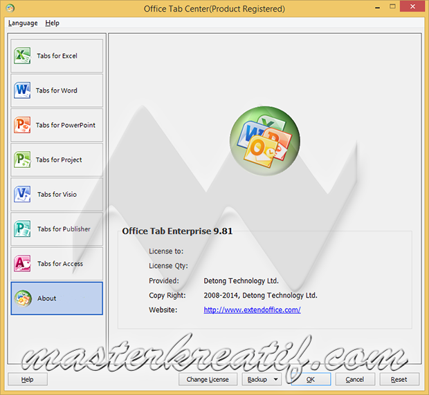 Office Tab Enterprise 9.81