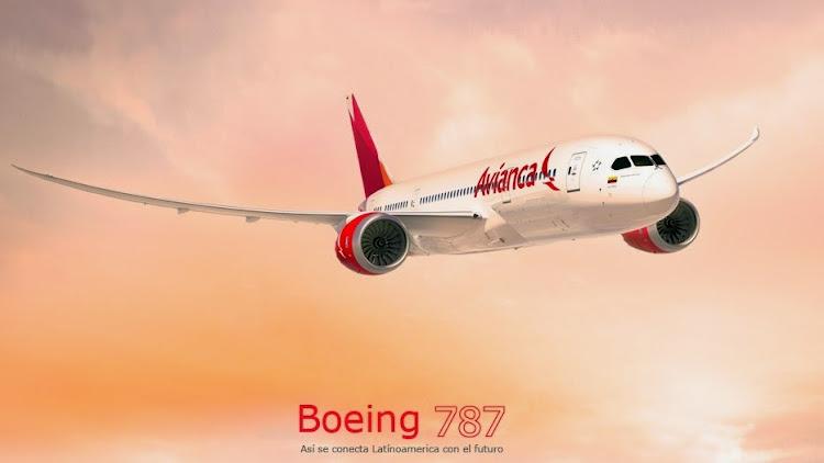 BOEING 787 de Avianca