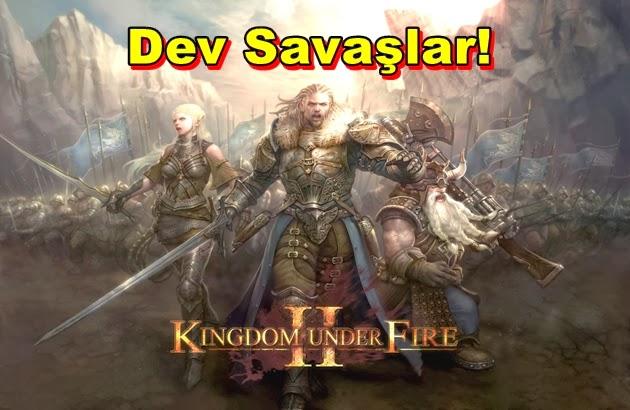 Kingdom Under Fire II'de Dev Savaşlar Bizleri Bekliyor Olacak!