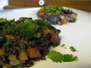 Meatless Monday: Spicy Black Bean and Sweet Potato Patties