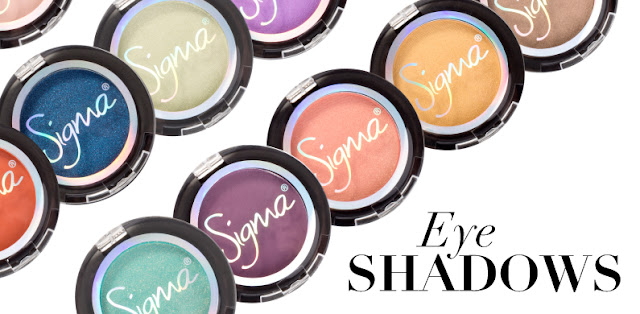 SIGMA INDIVIDUAL EYE SHADOW COLLECTIONS