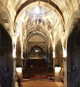 Interior Caravasar de Saruhan