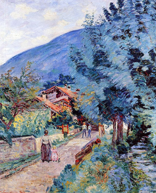 Armand Guillaumin - Rue de la Scierie - Pontcharra