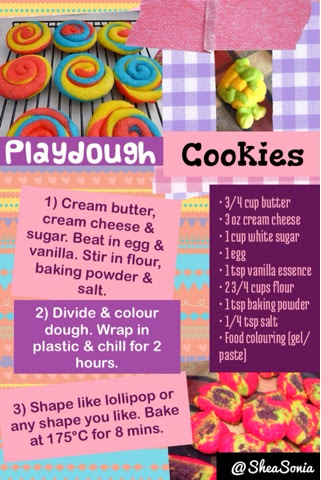 Play Dough Cookies Recipe