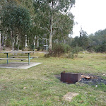 Clover Flat camping area