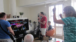 """Rocking out on Rock Band 3 to """"We Will Rock You"""""""