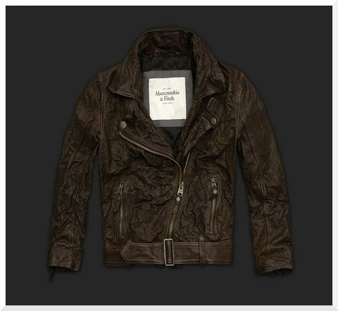 Abercrombie & Fitch Leather Jackets