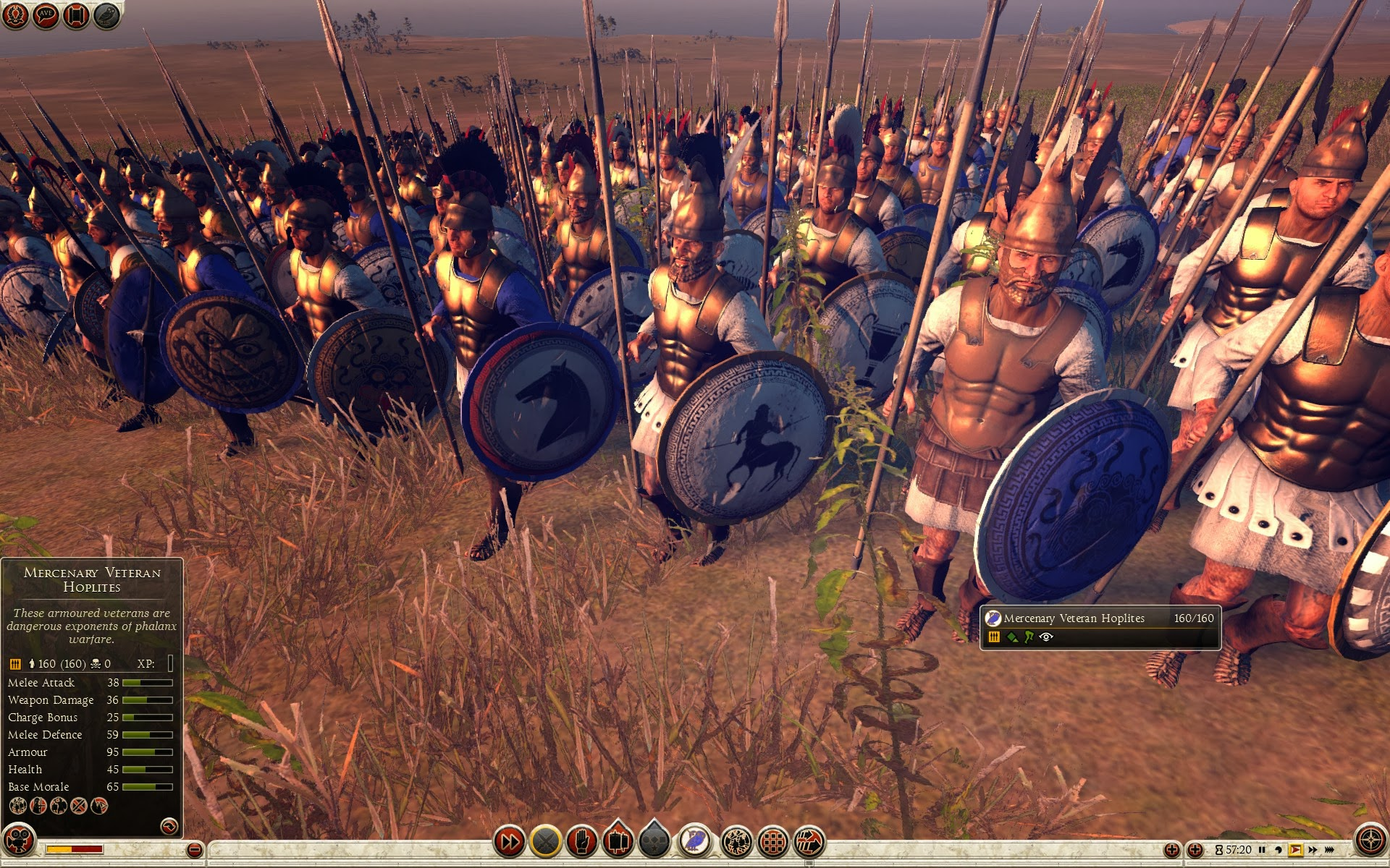 Mercenary Veteran Hoplites