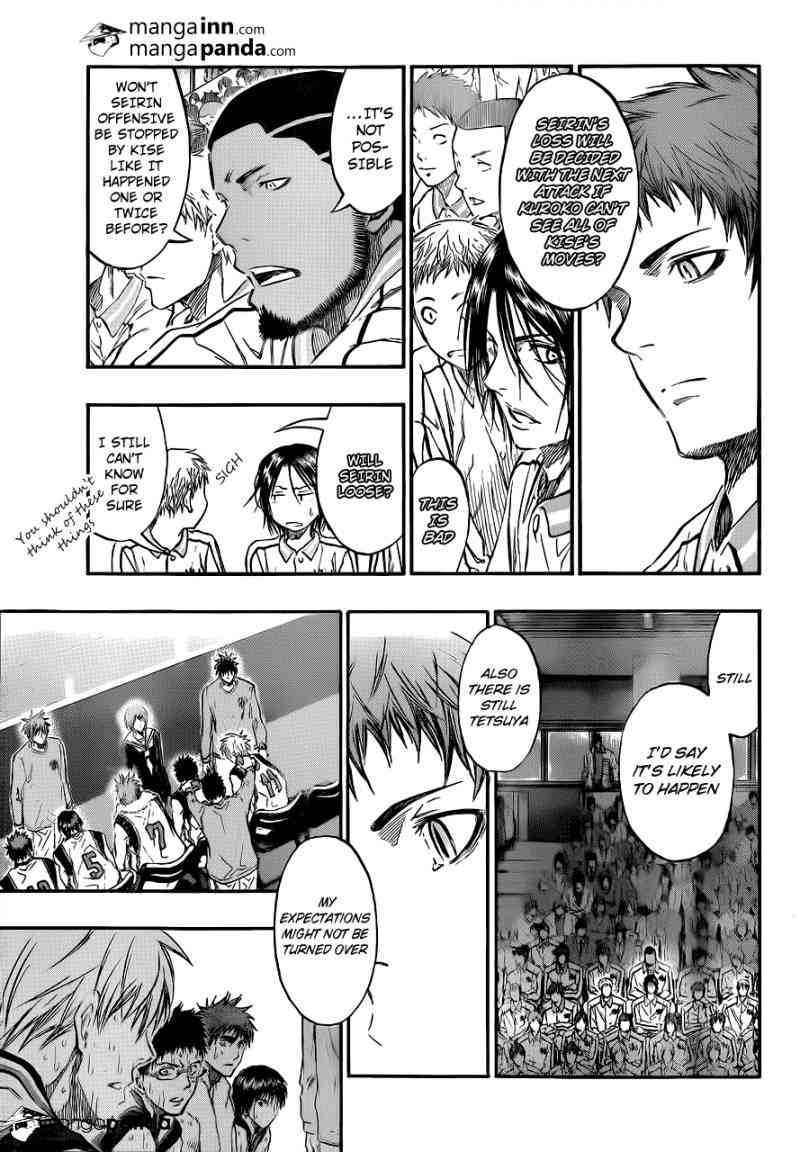 Kuroko no Basket Manga Chapter 200 - Image 03