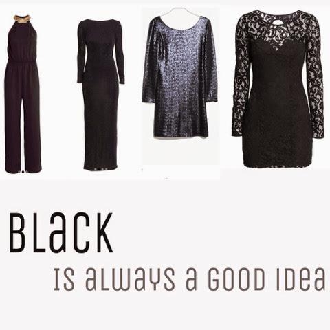 vestidos negros 2014