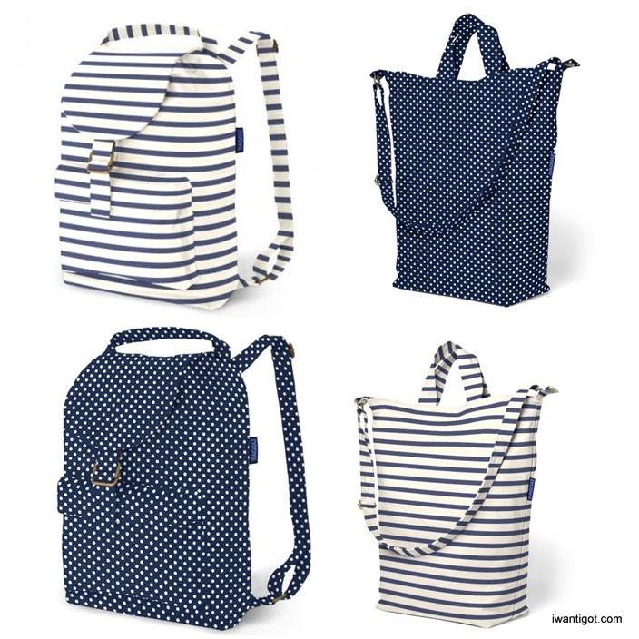 Duck Bag and Backpack by Baggu