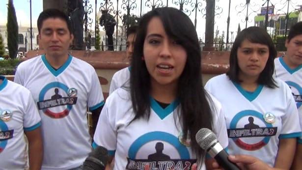 14 actos de amor en 14 dias, jovenes invitan a sumarse al proyecto