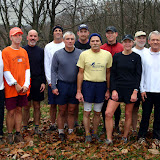 Copperhead Ridge Runners Thanksgiving Run 2004