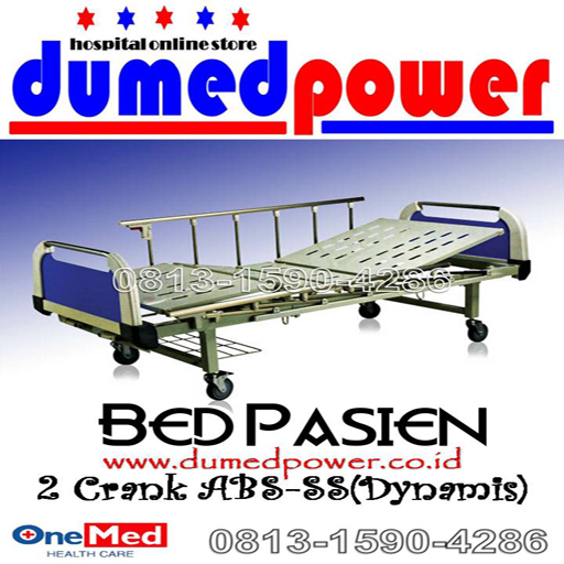 Bed+Pasien_2+crank+ABS_Dynamis_OneMed