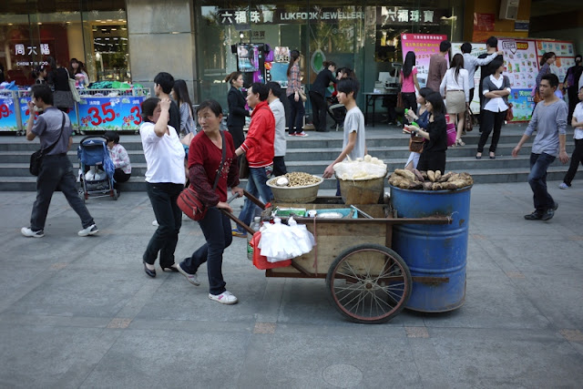 street vendor in Zhuhai, Guangdong