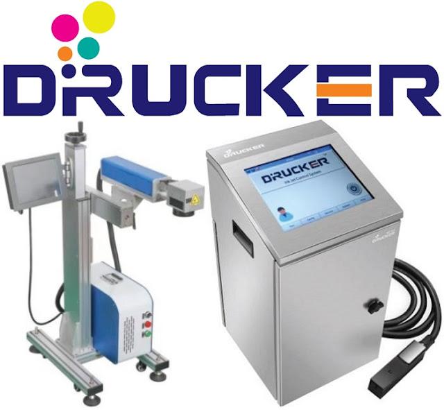 Máy in date Drucker tương đương Videojet UV 7810