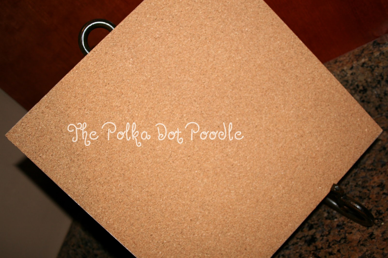the polka dot poodle   u0026quot new u0026quot  personalized ceramic tile  25