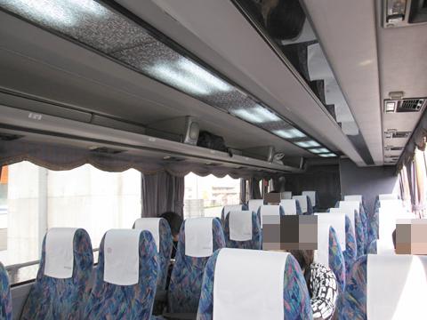 伊予鉄道「坊ちゃんエクスプレス」・241 車内