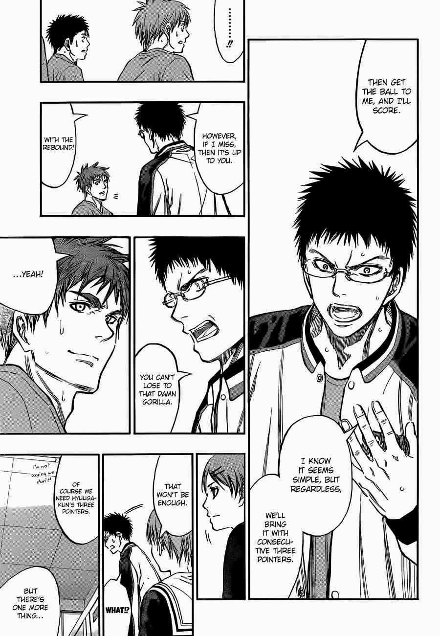 Kuroko no Basket Manga Chapter 246 - Image 05