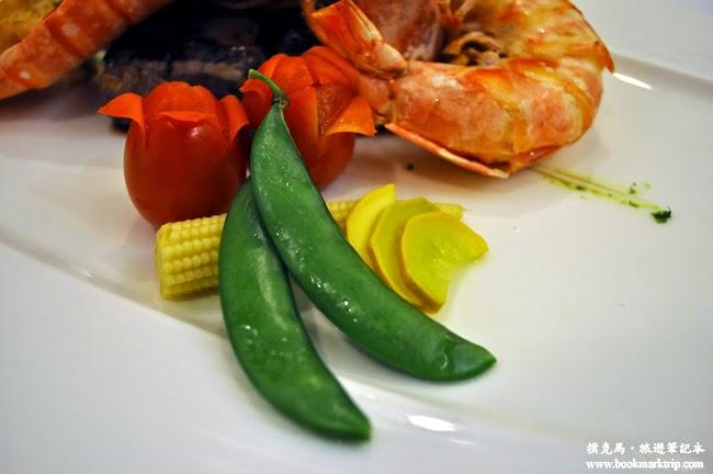 雅風筑雲蒜香明蝦海陸餐