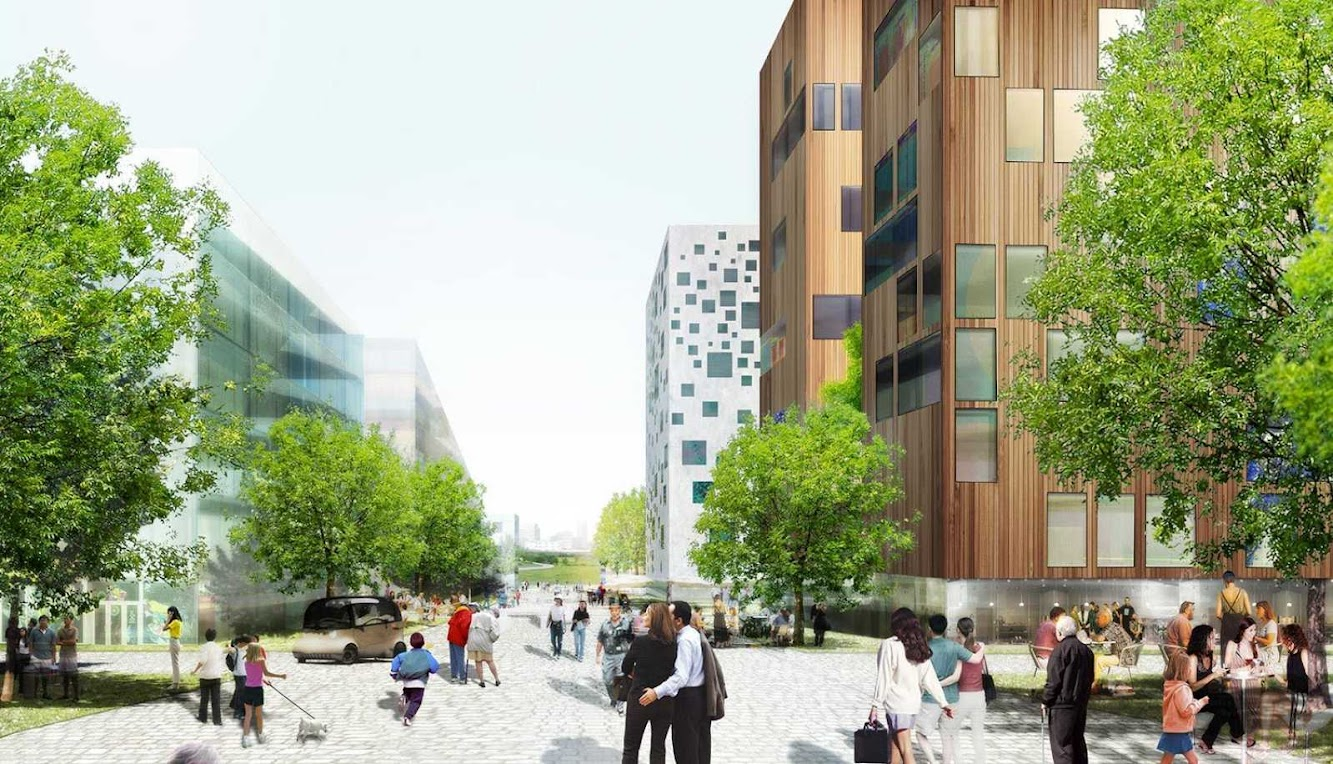 04 Urban Plan for Stavanger by Mvrdv and Space Group