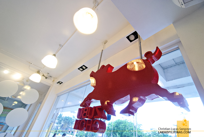 The Iconic Red Pig at Cebu's Zubuchon