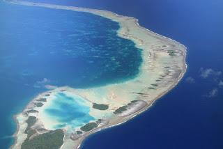 Otok Rangiroa s Modro laguno, kjer se bo ustavil čas