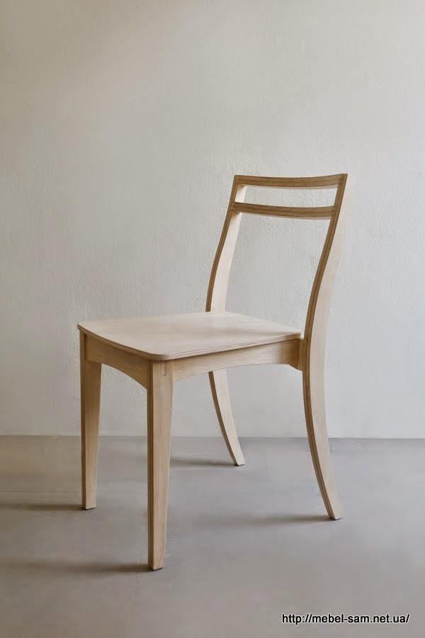 Curve Chair 2.0 стул из фанеры от Kittipoom Songsiri