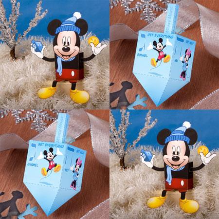 2011 Disney Hanukkah Papercraft