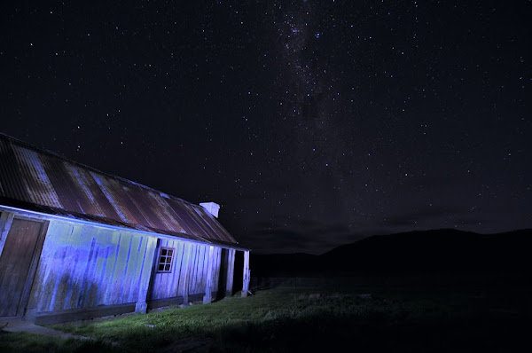 orroral homestead by night