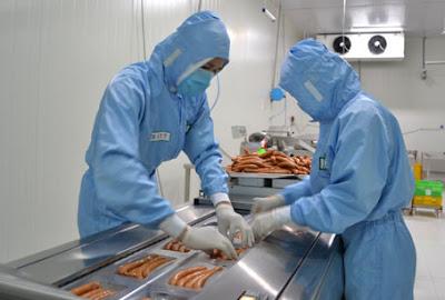 Đơn hàng chế biến thực phẩm cần 3 nam TTS làm việc tại Toyama Nhật Bản tháng 04/2016