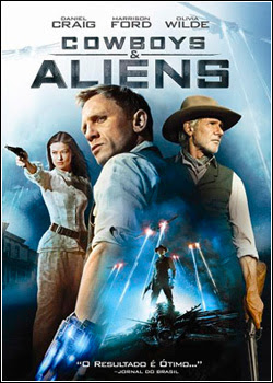 Capa do Filme Cowboys & Aliens