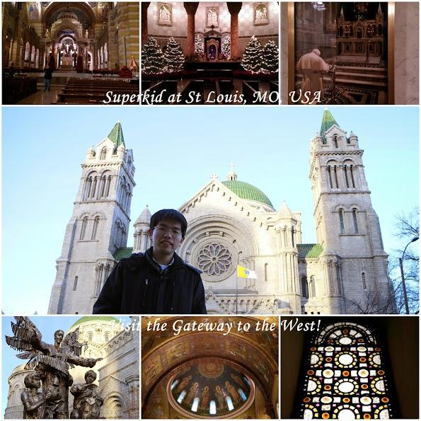 非常漂亮的聖路易大教堂,必訪!!!