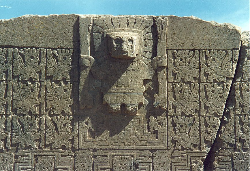 puerta del sol tiwanaku tarde croaste