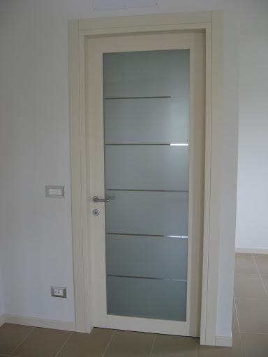Pin porte interne in legnolaccate o pvc legno massello on for Porte pvc 60
