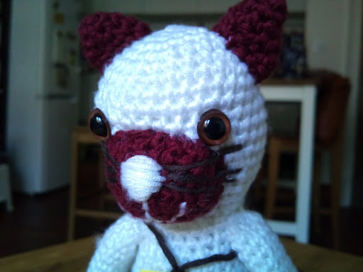 amigurumi #31 fox's clone 1-4