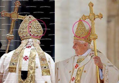 Kudeta Tahta suci Vatican - POPE-WITH-ZION-HAT