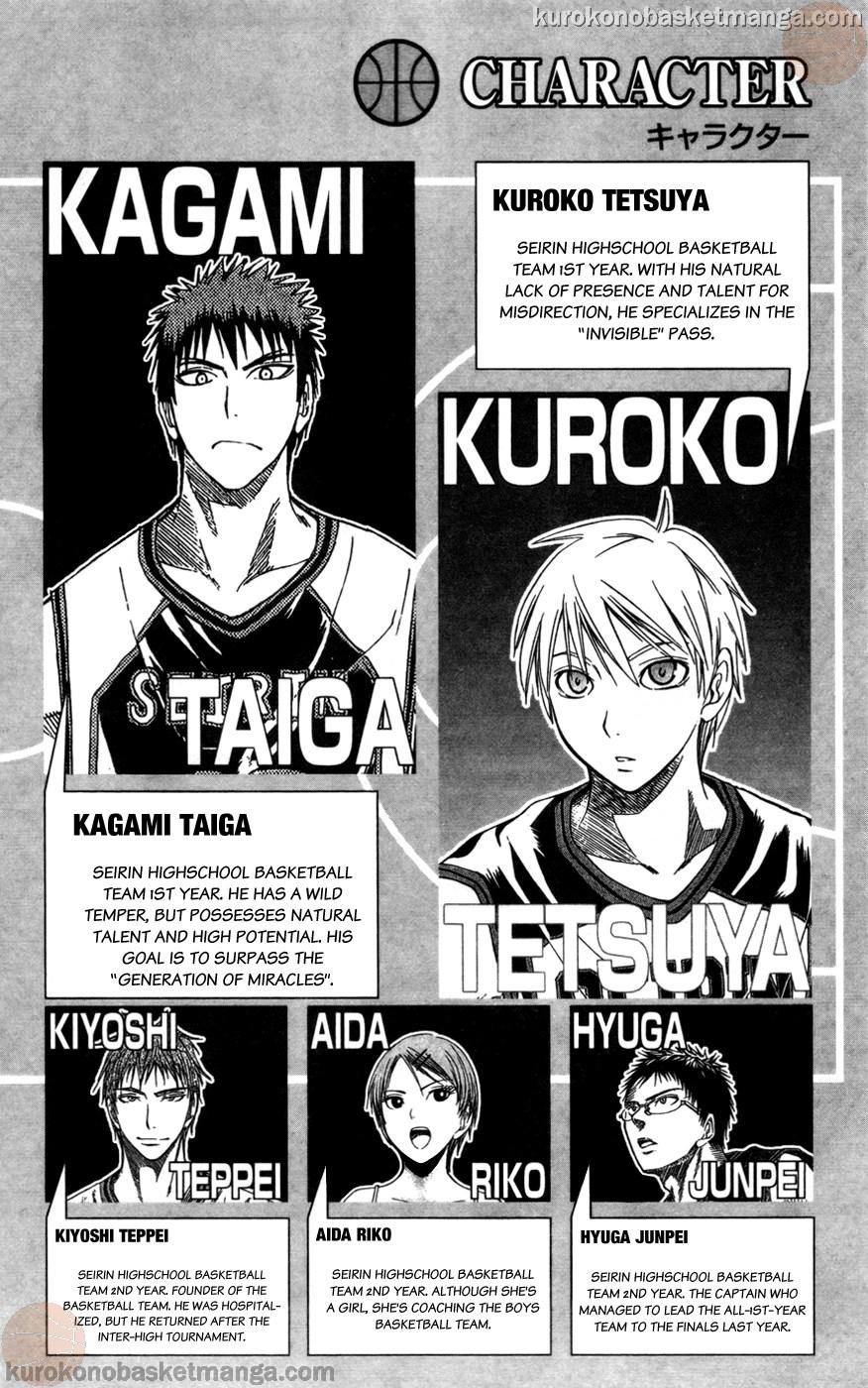 Kuroko no Basket Manga Chapter 109 - Image 02