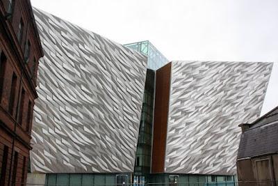 Titanic Belfast museum in Ireland
