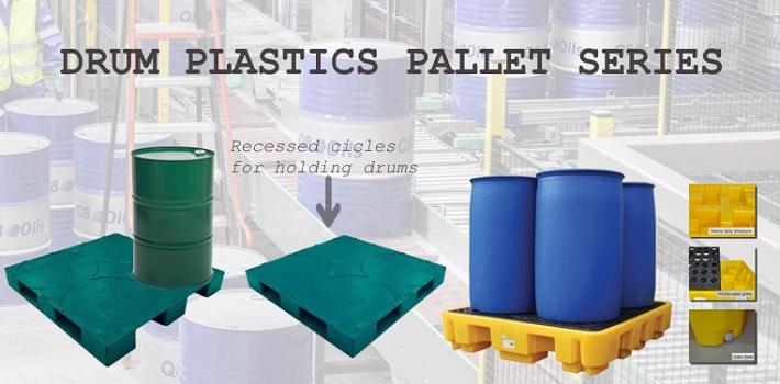 Pallet nhựa lưu kho - Pallet chuyên dụng: