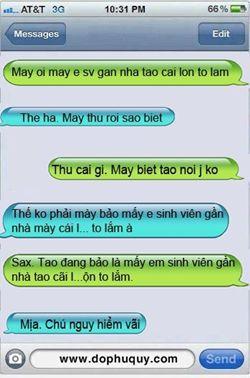 SMS không dấu gây hiểu lầm