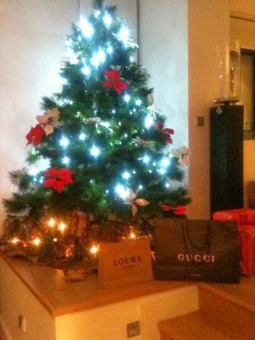 Über Weihnachtsgeschenke
