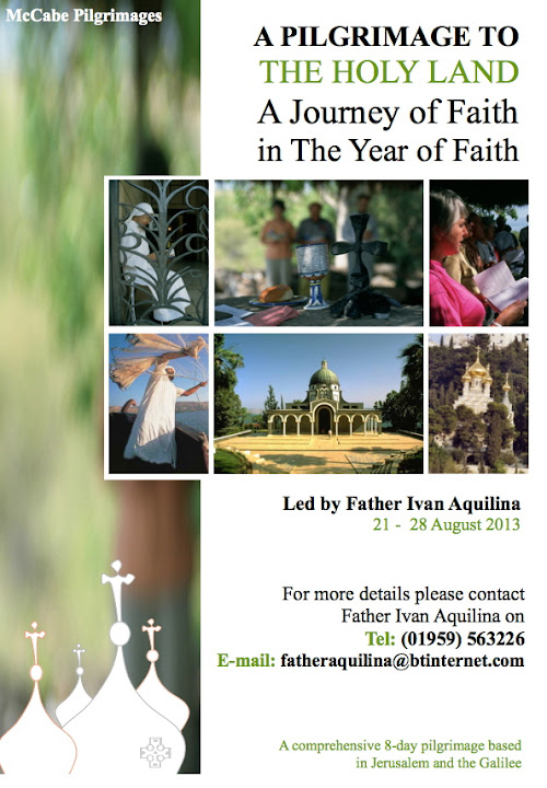 Holy Land Pilgrimage 2013