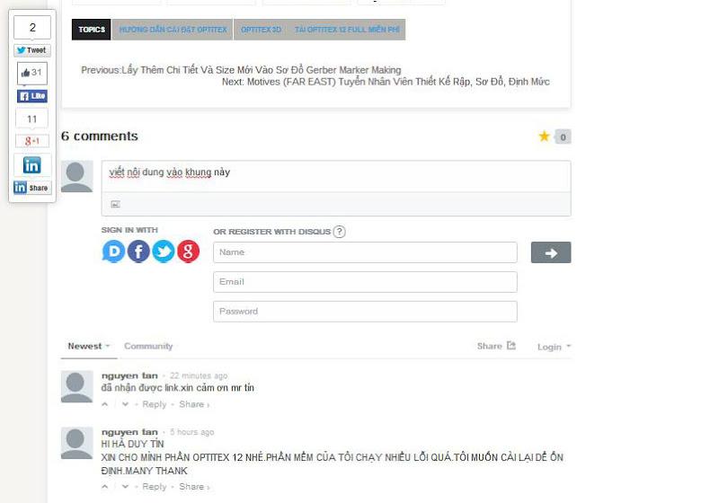 Hướng Dẫn Sử Dụng Hệ Thống Comment Disqus Tại Blog CongNgheMay.info 2