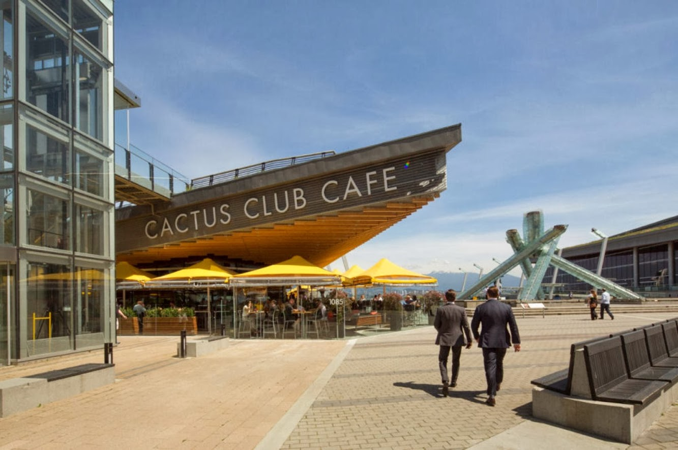 Cactus Club by Acton Ostry Architects
