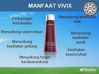 VIVIX 3 Vivix Nutrisi Herbal Penyembuhan Nyeri Sendi