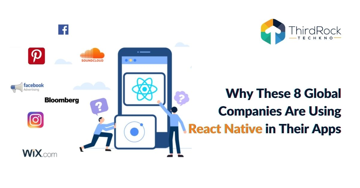 Big companies using react native