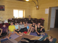 Фоторепортаж с тренинга по ньяса-йоге 12-18 февраля 2012г в Карпатах.757