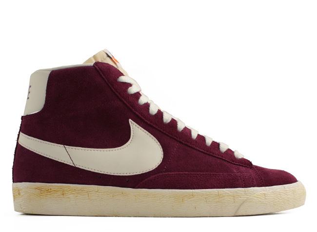 huge discount feb25 ec259 Maddy Budd s Blog  Not a want - a need. Nike Blazers Vintage, Deep Garnet