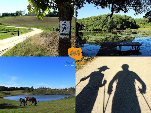 Ruszaj w Drogę na Kaszubach - dzień siódmy - Nordic Walking